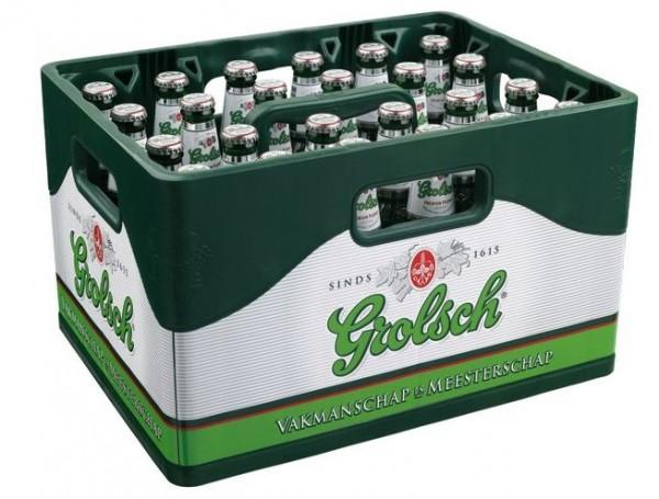Grolsch Premium Lager 24x0,33 Mehrweg