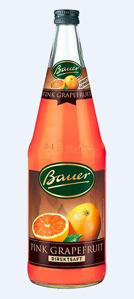 Bauer Pink-Grapefruit 6x1,0 Mehrweg (B)