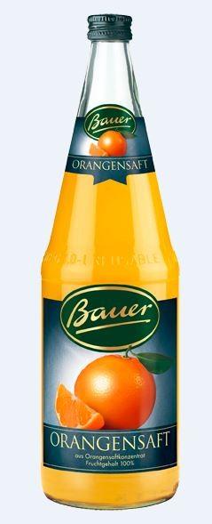 Bauer Orange 6x1,0 Mehrweg