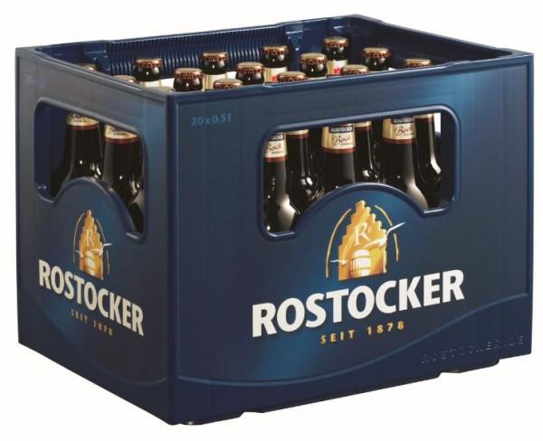 Rostocker Bock dunkel 20x0,5 Mehrweg