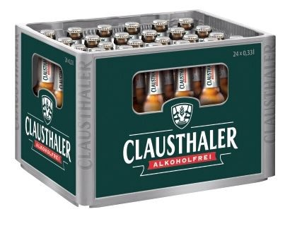 Clausthaler Classic 24x0,33 Mehrweg