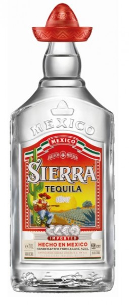 Sierra Tequila silver 38% 0.7 Einweg