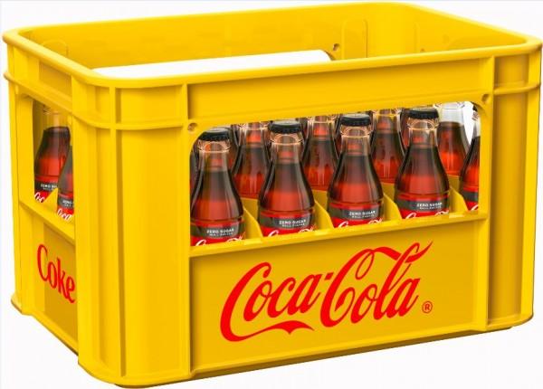 Coca Cola Zero 24x0,2 Mehrweg