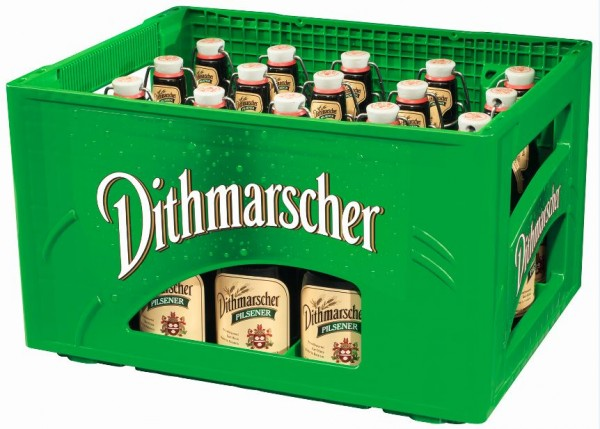 Dithmarscher Pilsener 20x0,33 Bügel Mehrweg (D)