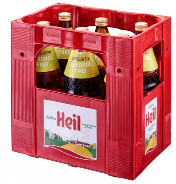 Heil Apfelwein alkoholfrei naturtrüb 6x1,0