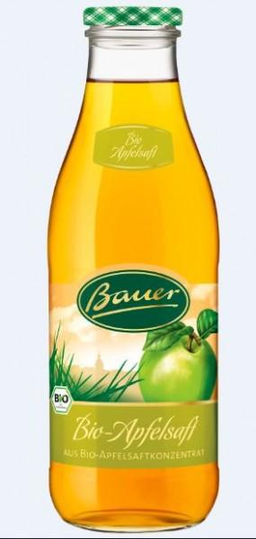 Bauer Bio Apfel klar 6x0,98 Mehrweg