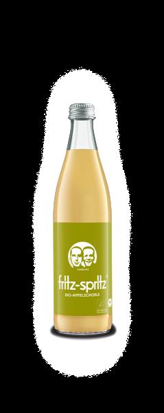 fritz spritz Bio-Apfelsaftschorle 10x0,5 Mehrweg