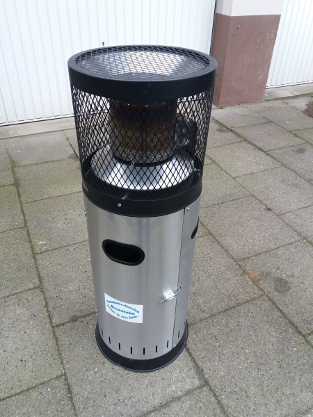 Miet-Heizstrahler 1,15 m. 6 Kw incl. Gasflasche Selbstabholung
