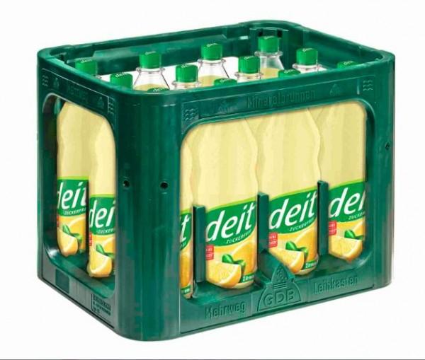Deit Zitrone trüb 12x1,0 PET Mehrweg (D)