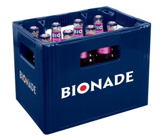 Bionade Himbeer-Pflaume 12x0,33 Mehrweg