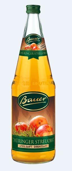 Bauer Apfel Streuobst Direktsaft 6x1,0 Mehrweg
