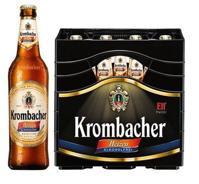 Krombacher Weizen alkoholfrei 11x0,5 Mehrweg
