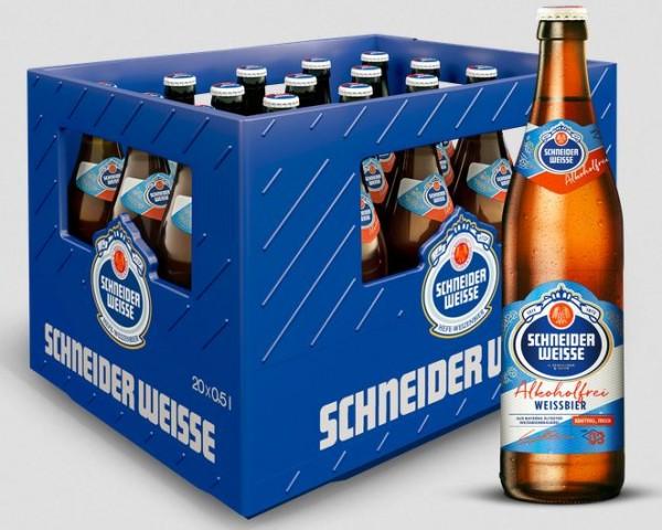 Schneider Weisse TAP 3 Mein Alkoholfreies 20x0,5 Mehrweg