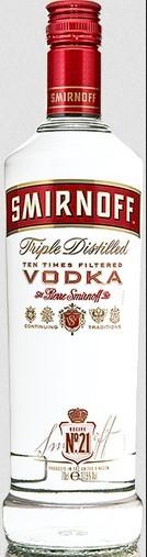 Smirnoff Wodka 37,5% 0.7 Einweg
