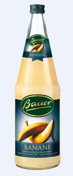 Bauer Banane 6x1,0 Mehrweg