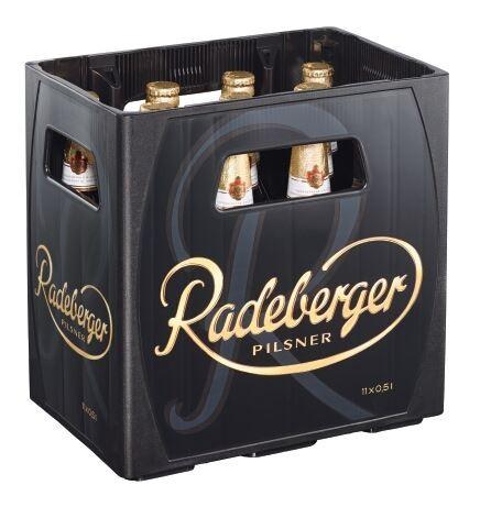 Radeberger Pilsener 11x0,5 Mehrweg