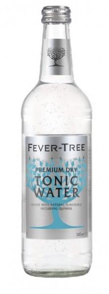 Fever-Tree Premium Dry Tonic Water 8x0,5 Glasfl. Mehrweg