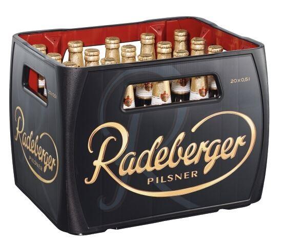 Radeberger Pilsener 20x0,5 Mehrweg