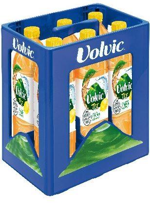 Volvic Tee Grüntee Zitrone 6x1,5 PET Einweg Kasten (D)
