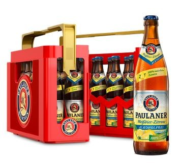 Paulaner Weissbier-Zitrone alkoholfrei 20x0,5 Mehrweg