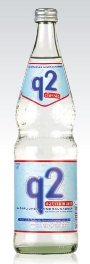 Q 2 Classic 12x0,7 Glasfl. Mehrweg