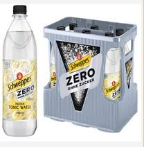 Schweppes Indian Tonic Water Zero 6x1,0 PET Mehrweg