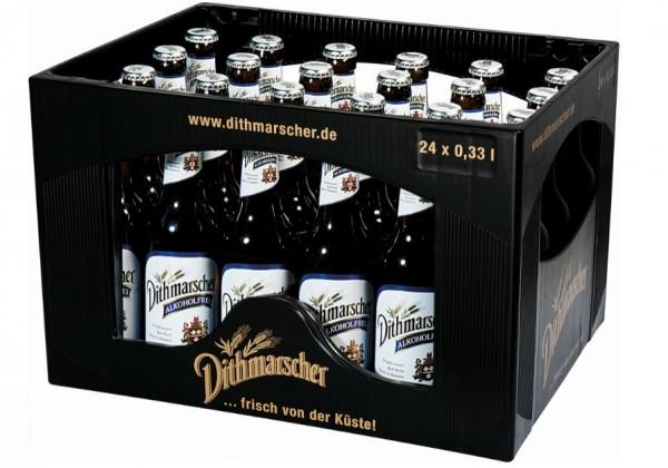 Dithmarscher alkoholfrei 24x0,33 Mehrweg