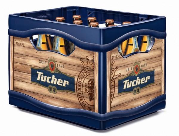 Tucher Helles Hefe Weizen 20x0,5 Mehrweg