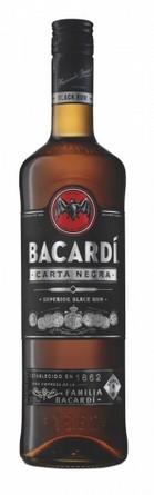 Bacardi Carta Negra 37,5% 0.7 Einweg