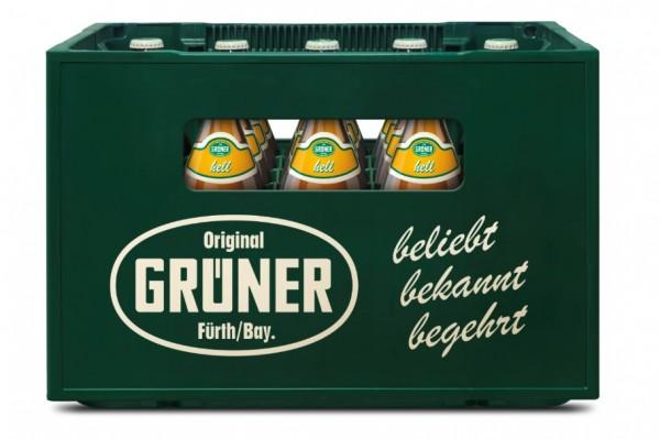 Grüner Vollbier hell 20x0,5 Mehrweg