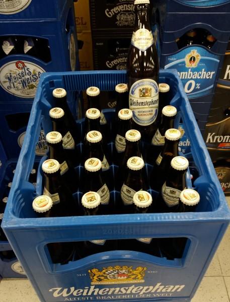Weihenstephan Hefeweissbier alkoholfrei 20x0,5 Mehrweg