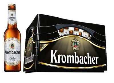 Krombacher Pils 24x0,33 Mehrweg (D)