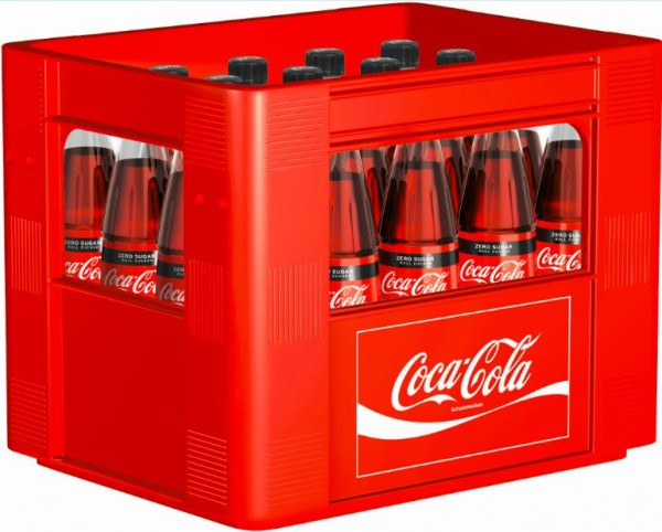 Coca Cola Zero 20x0,5 Glasfl. Mehrweg (D)