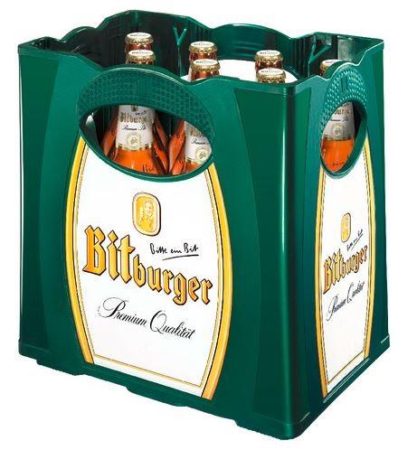 Bitburger Pils 11x0,5 Mehrweg