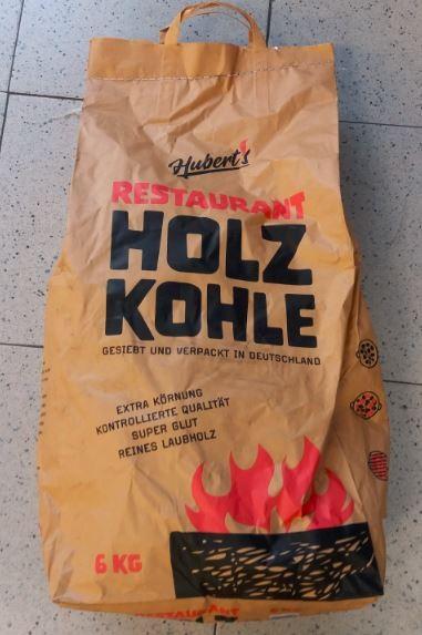 Hubert's Restaurant Holzkohle 6 kg
