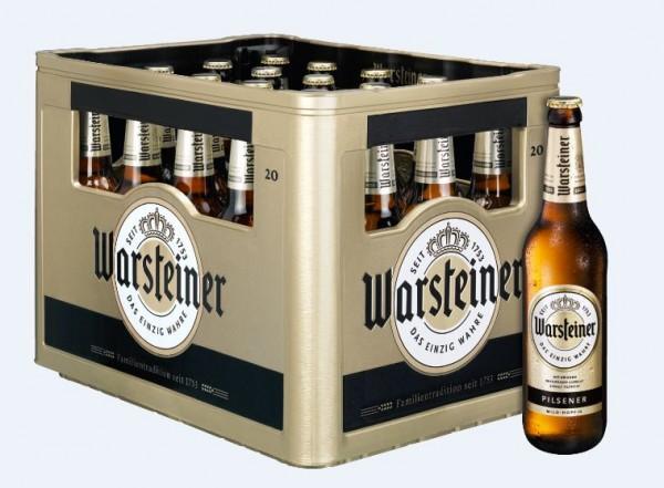 Warsteiner Premium Verum 20x0,5 Mehrweg (D)