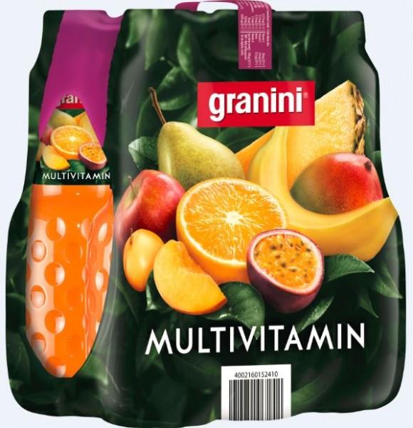 Granini Multivitamin 6x1,0 PET Einweg