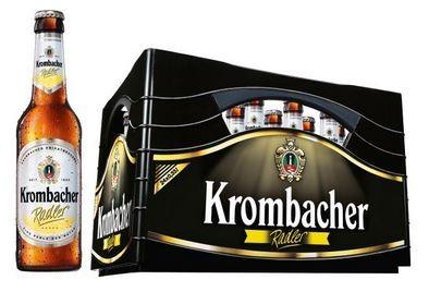 Krombacher Radler 24x0,33 Mehrweg (D)