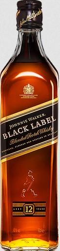 Johnny Walker black 40% 0.7 Einweg