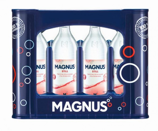 Magnus still 12x0,7 Glasfl. Mehrweg (D)