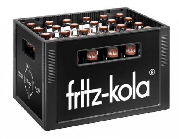 Fritz Kola Karamell-Kaffee 24x0,33 Mehrweg (D)