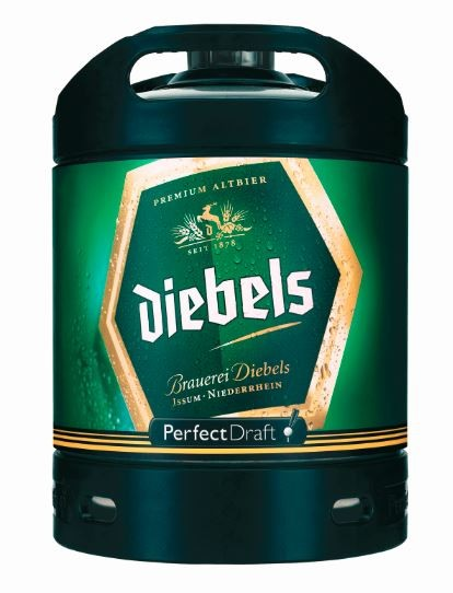 Diebels 6 ltr. Perfect Draft Mehrweg