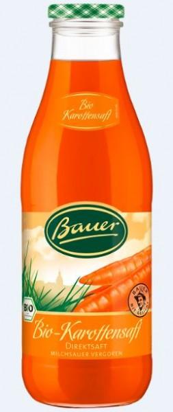 Bauer Bio Karottensaft 6x0,98 Mehrweg
