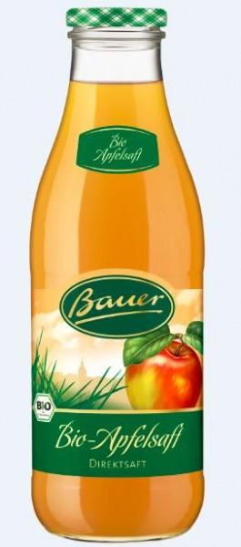 Bauer Bio Apfel trüb 6x0,98 Mehrweg