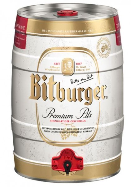 Bitburger Pils 5 ltr. Dose Einweg