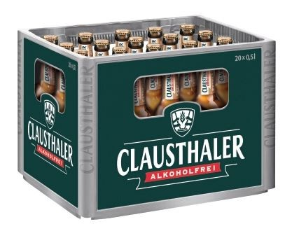 Clausthaler extra herb 24x0,33 Mehrweg