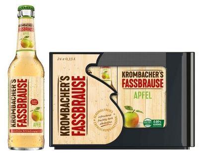Krombachers Fassbrause Apfel 24x0,33 Mehrweg