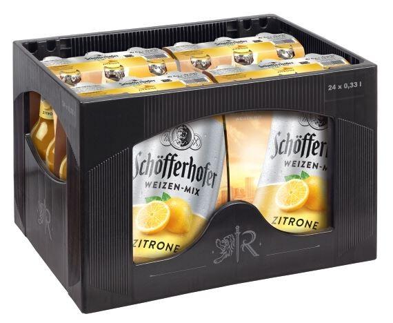 Schöfferhofer Zitrone 24x0,33 Mehrweg