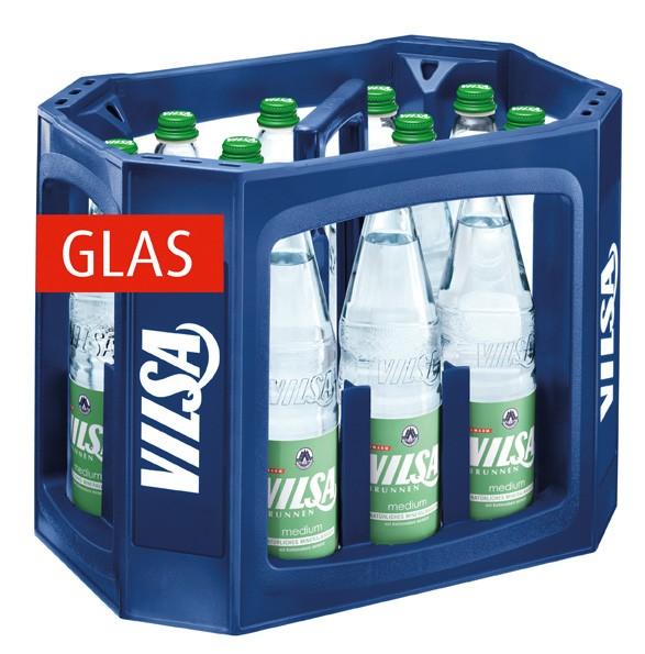 Vilsa medium 12x0,7 Glasfl. Mehrweg