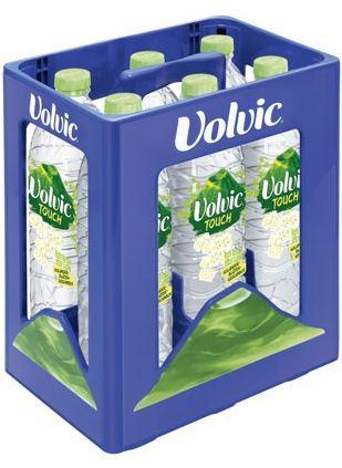 Volvic Touch Holunderblüte 6 x 1,5 PET Einweg Kasten